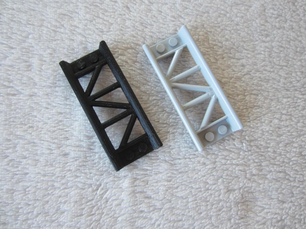 rails de roller coaster imprimé